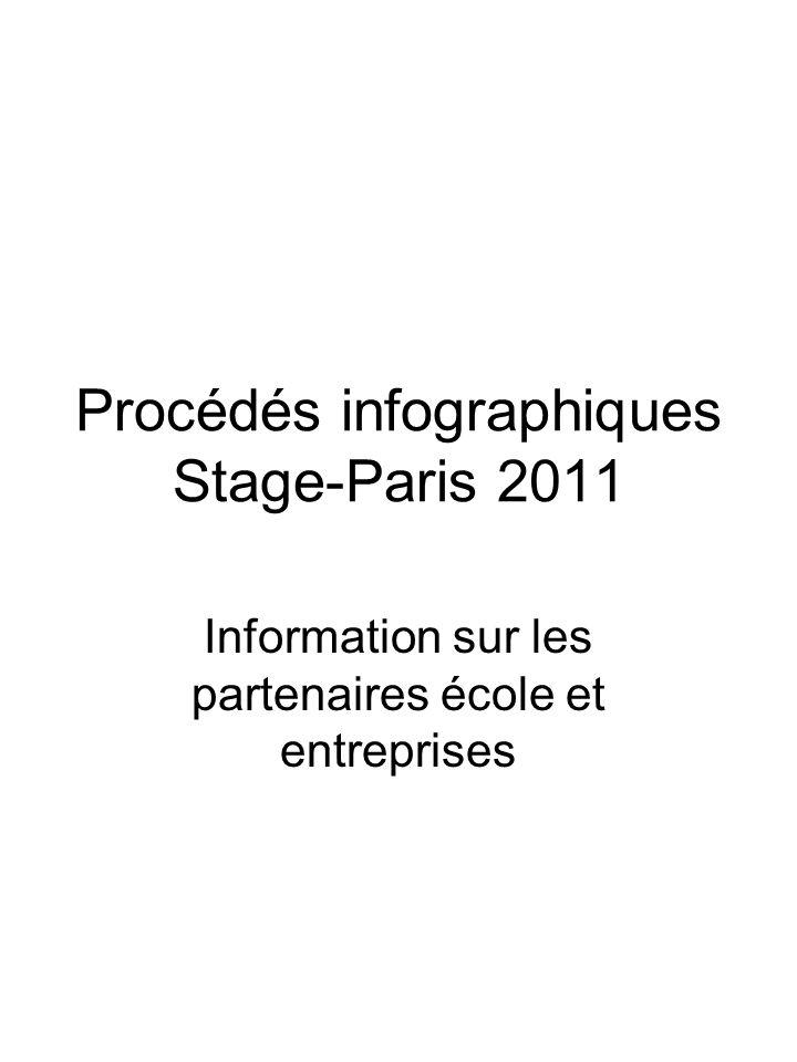 Procédés infographiques Stage-Paris 2011