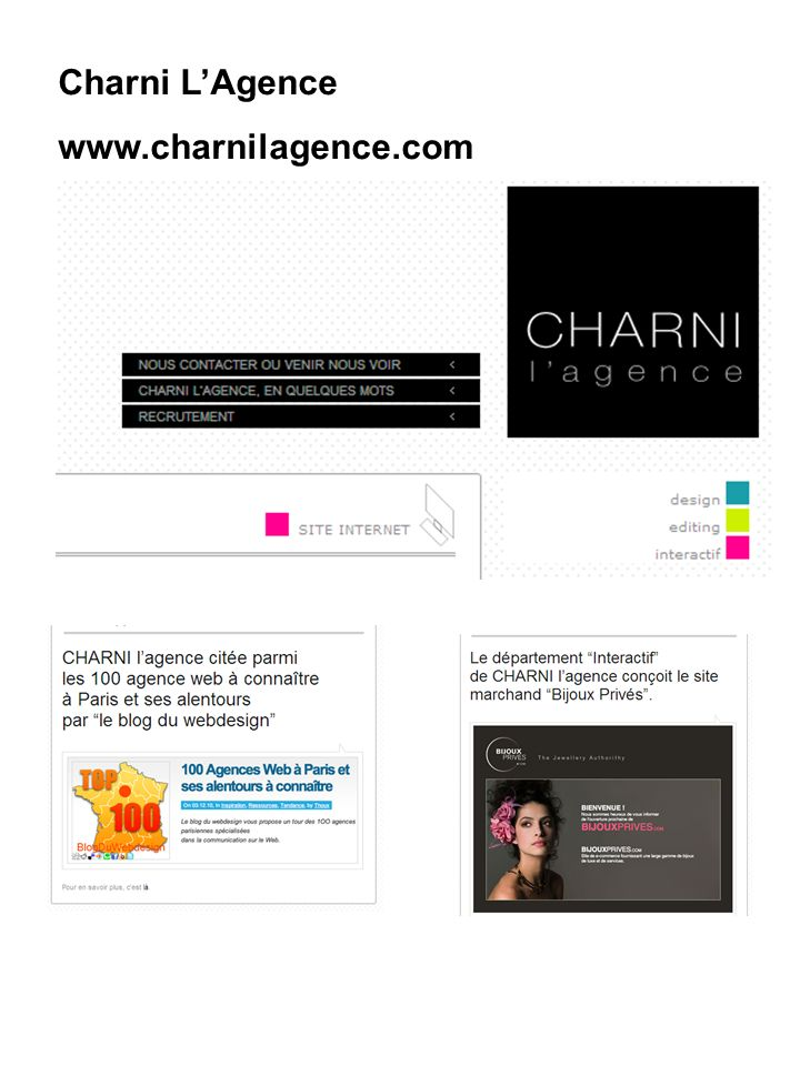Charni L'Agence www.charnilagence.com