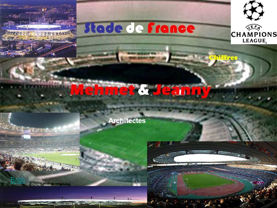 Stade de France Chiffres Mehmet & Jeanny Architectes Bron