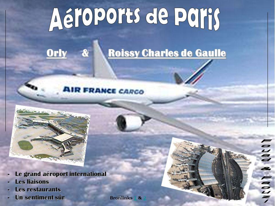 Aéroports de Paris Fouad & Faouzi Orly & Roissy Charles de Gaulle