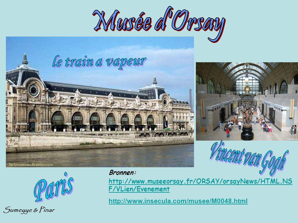 Musée d Orsay le train a vapeur Paris Vincent van Gogh