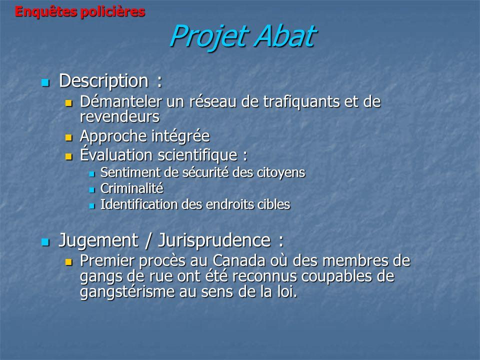 Projet Abat Description : Jugement / Jurisprudence :