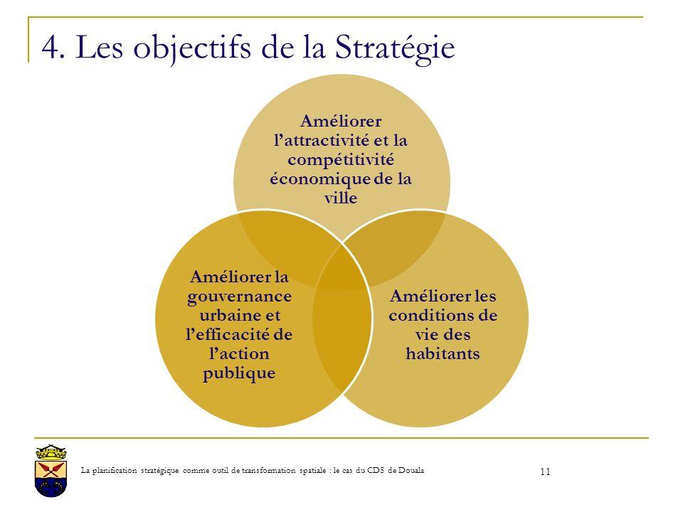 4. Les objectifs de la Stratégie