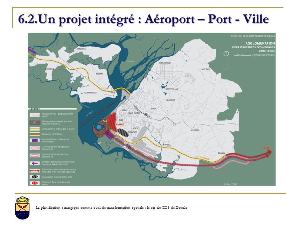 6.2.Un projet intégré : Aéroport – Port - Ville