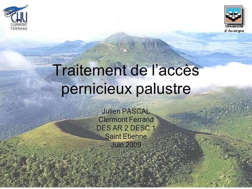 Traitement de l'accès pernicieux palustre