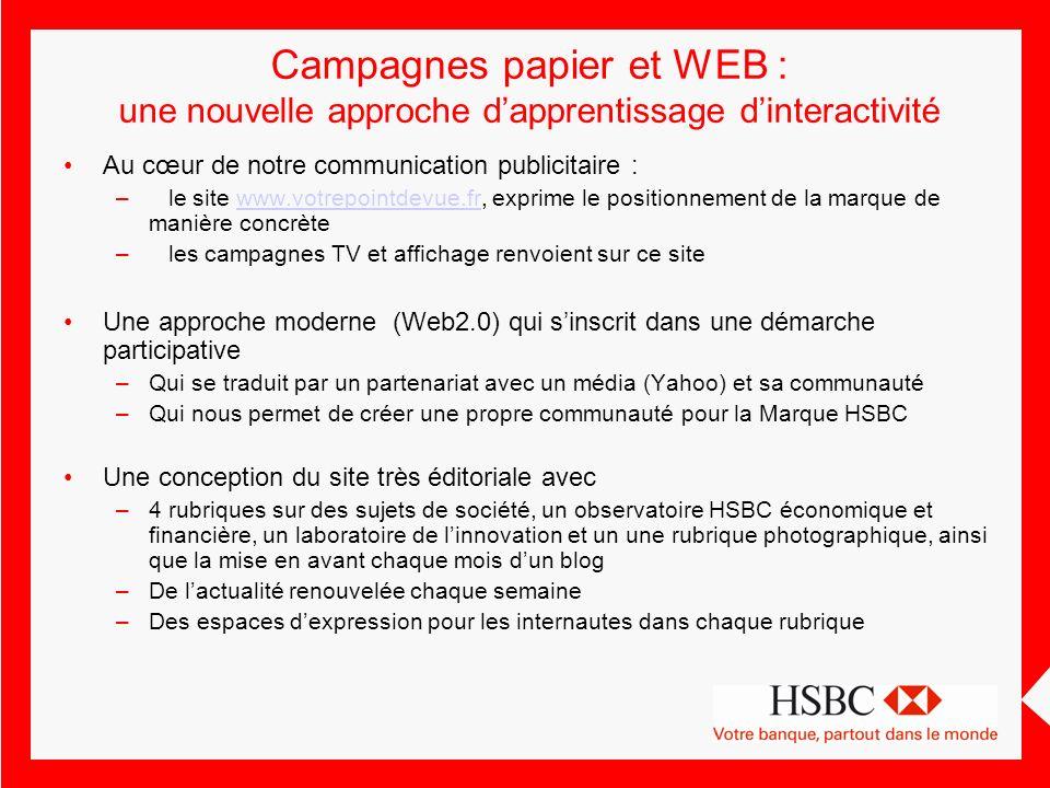 Campagnes papier et WEB : une nouvelle approche d'apprentissage d'interactivité