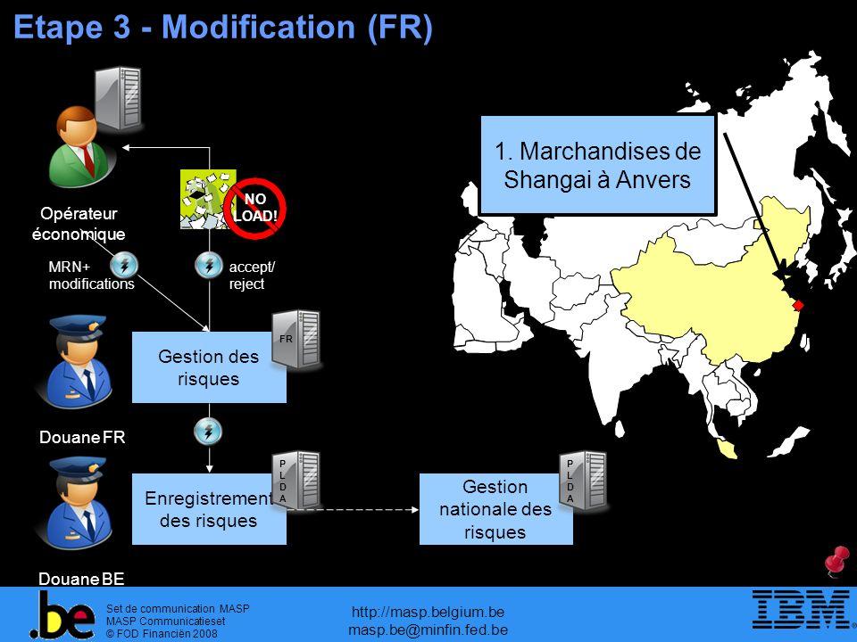 Etape 3 - Modification (FR)