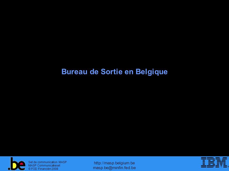 Bureau de Sortie en Belgique