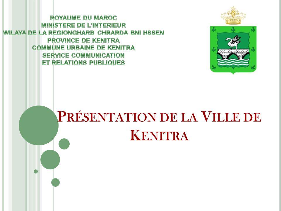 Présentation de la Ville de Kenitra