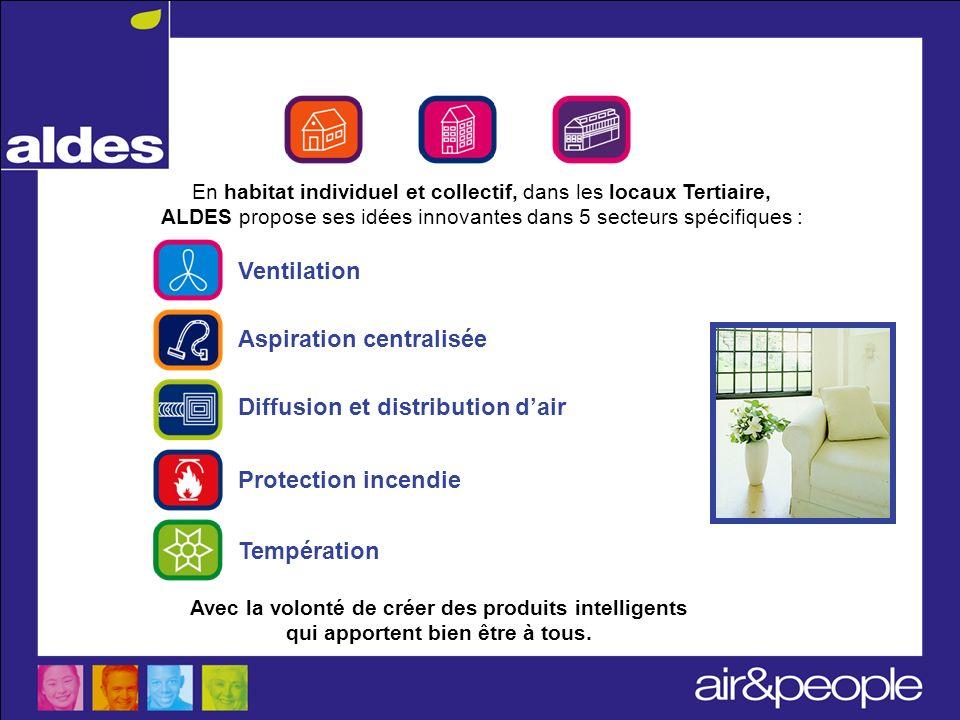 Savoir-faire ALDES Ventilation Aspiration centralisée