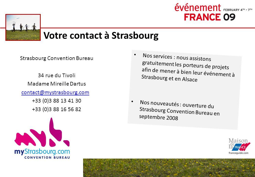 Votre contact à Strasbourg