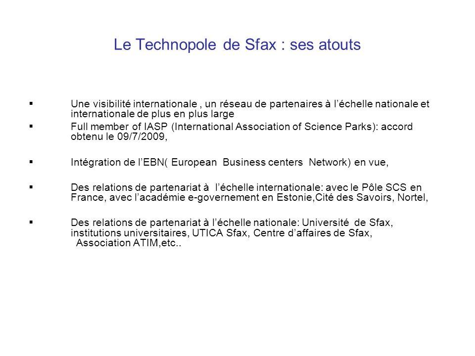 Le Technopole de Sfax : ses atouts