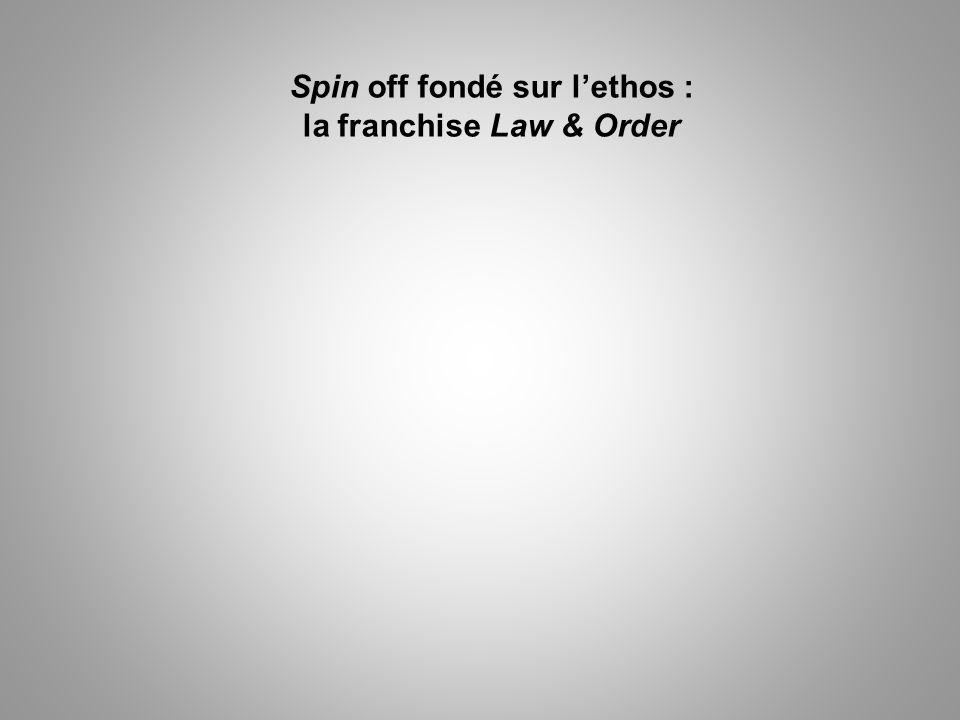 Spin off fondé sur l'ethos : la franchise Law & Order