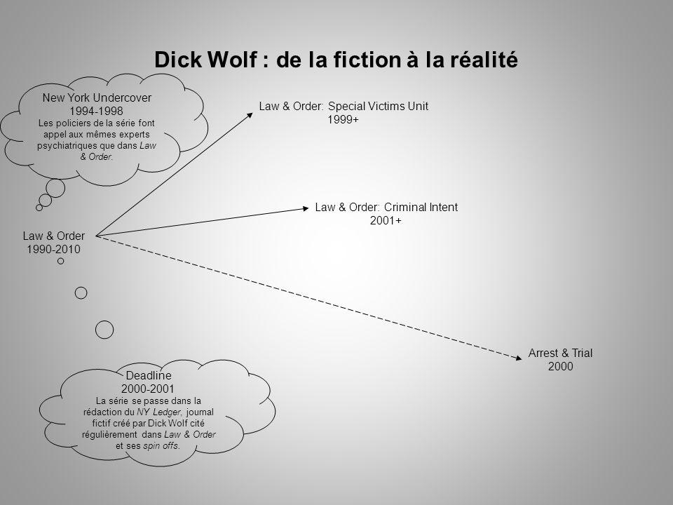 Dick Wolf : de la fiction à la réalité