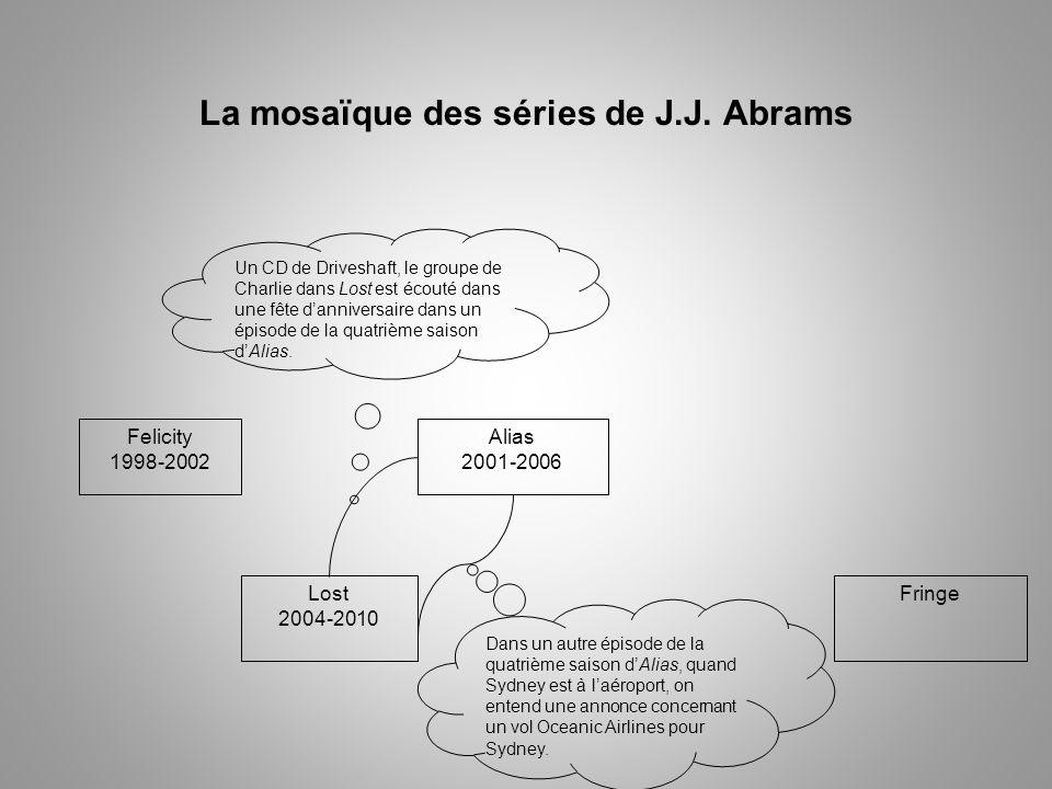 La mosaïque des séries de J.J. Abrams