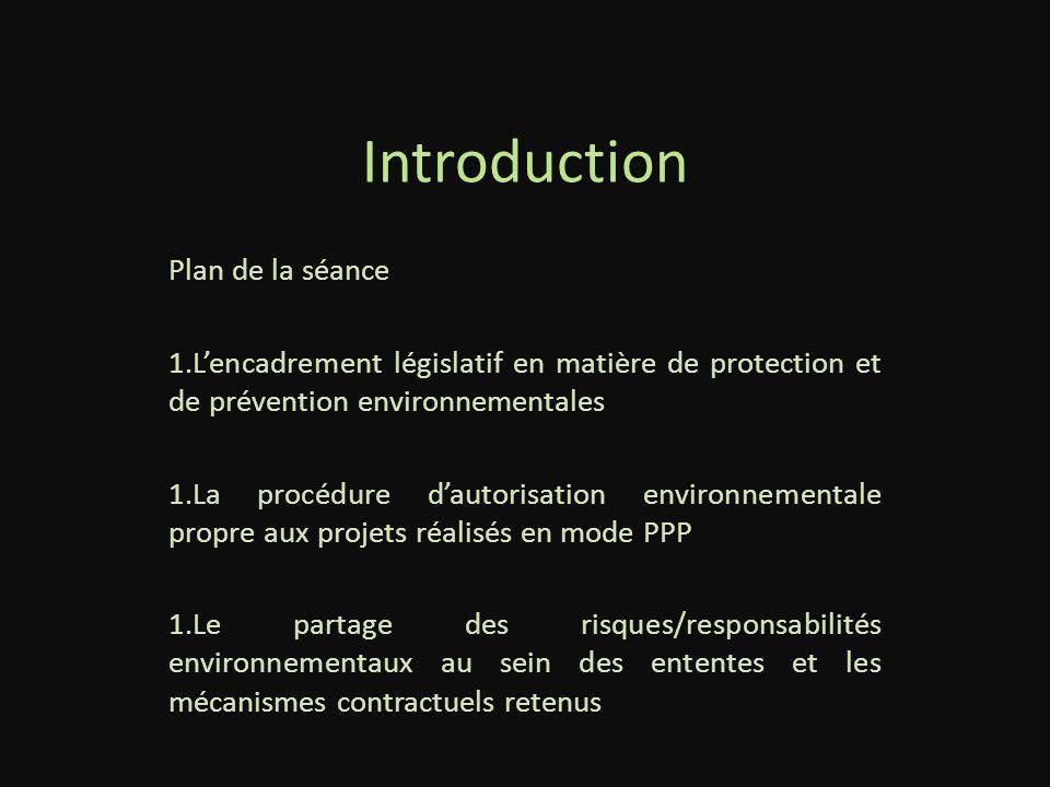 PPP et enjeux environnementaux