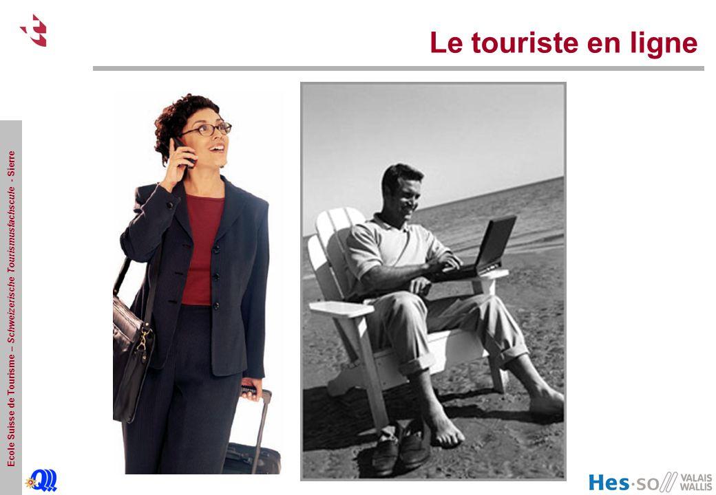 Le touriste en ligne