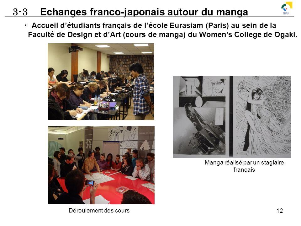 Manga réalisé par un stagiaire français