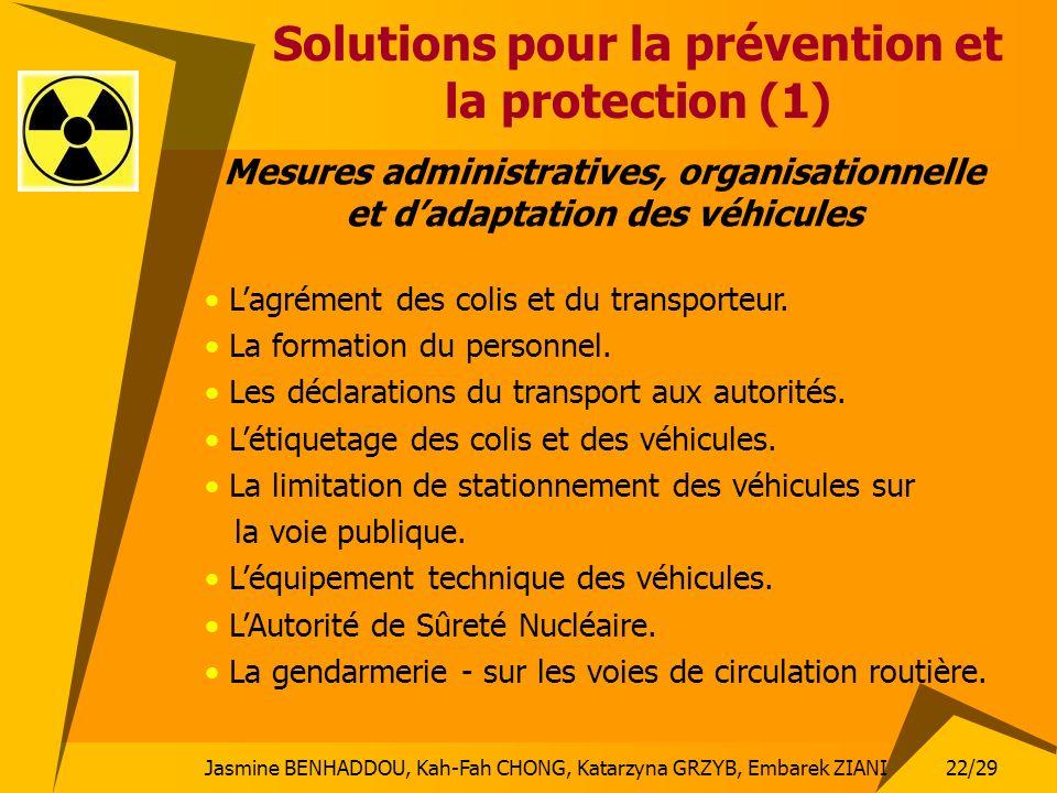 Solutions pour la prévention et la protection (1)