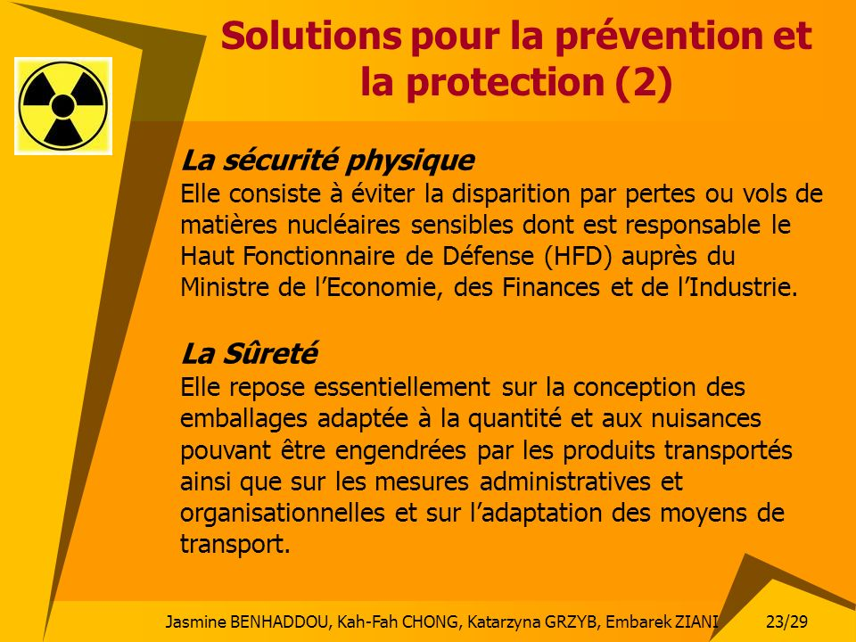 Solutions pour la prévention et la protection (2)