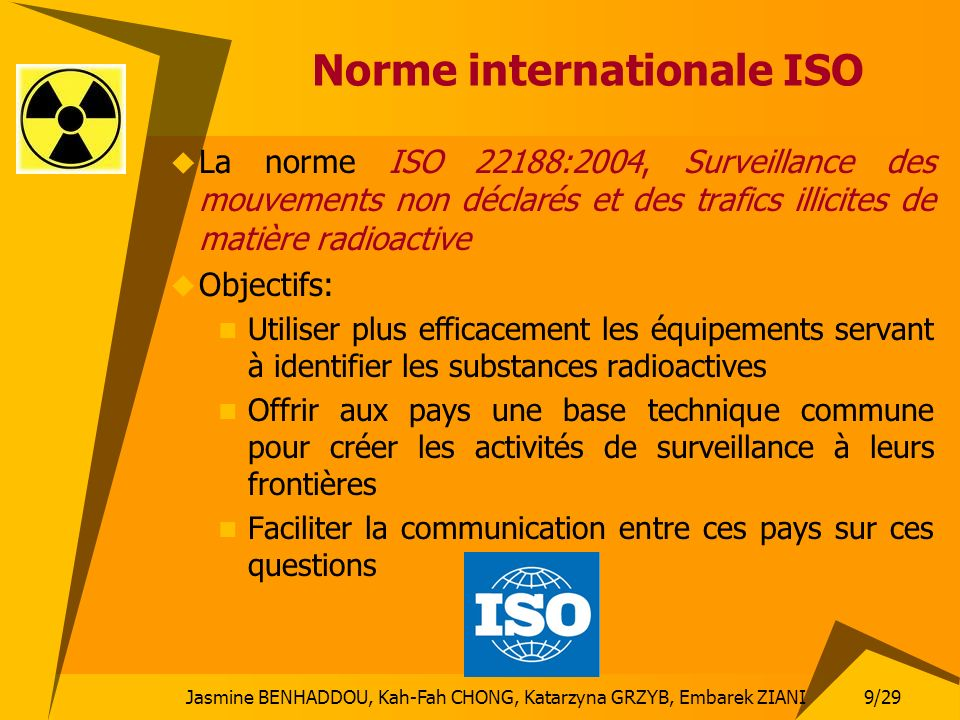 Norme internationale ISO