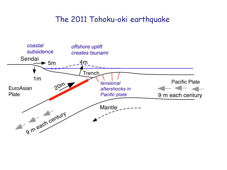 The 2011 Tohoku-oki earthquake