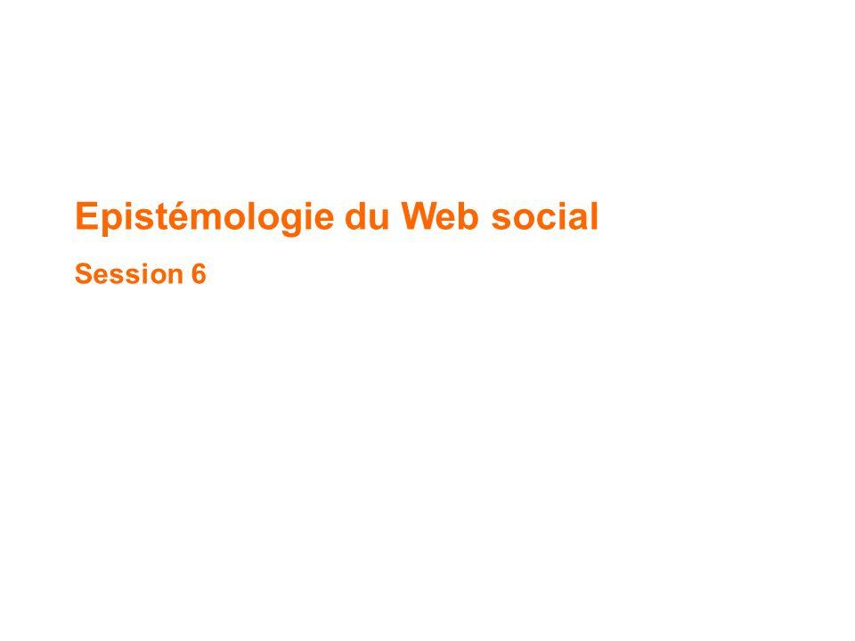 Epistémologie du Web social