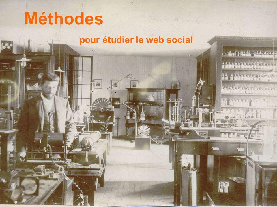 Méthodes pour étudier le web social
