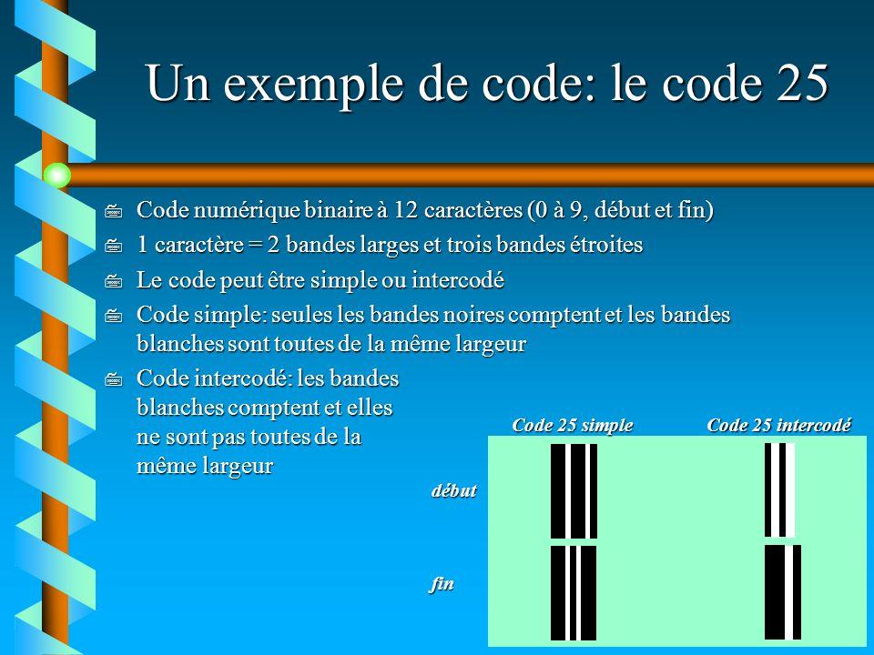 Un exemple de code: le code 25