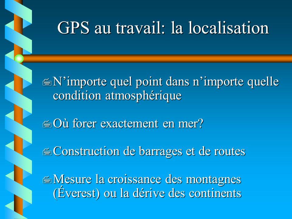 GPS au travail: la localisation