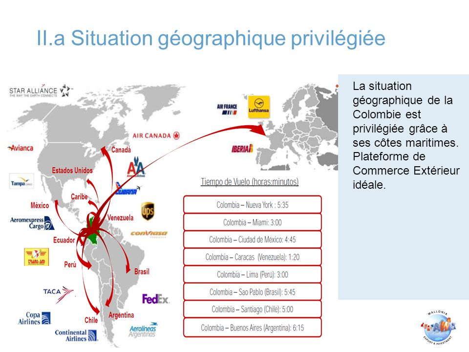 La colombie l aube de l entr e en vigueur de l accord for Commerce exterieur belgique