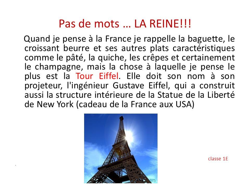 Pas de mots … LA REINE!!!