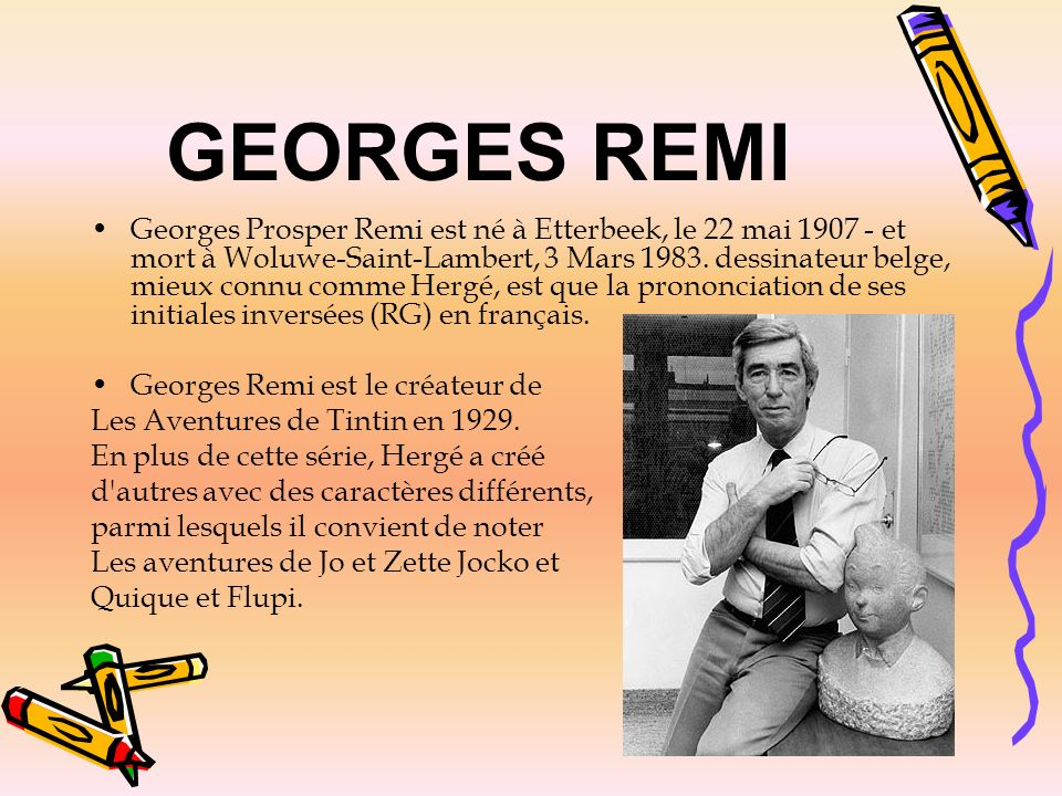 GEORGES REMI
