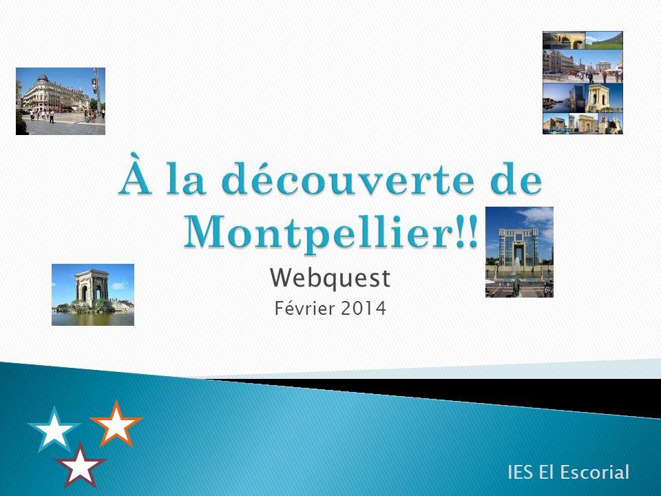 À la découverte de Montpellier!!