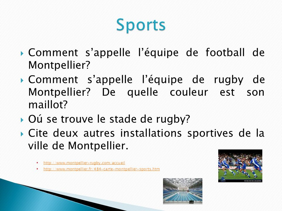 Sports Comment s'appelle l'équipe de football de Montpellier