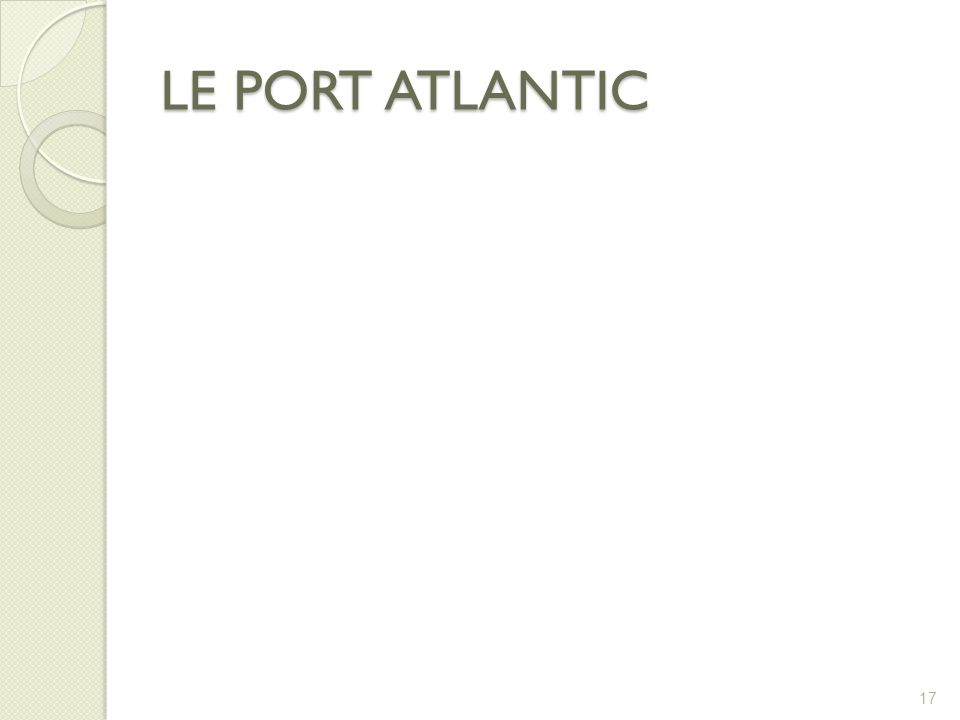 LE PORT ATLANTIC