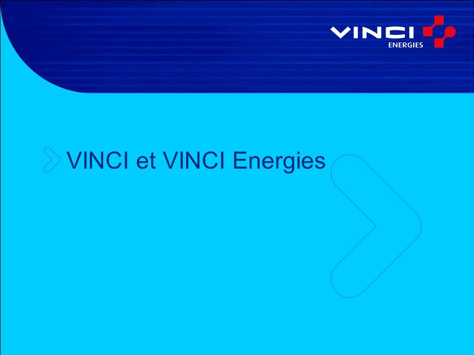 VINCI et VINCI Energies