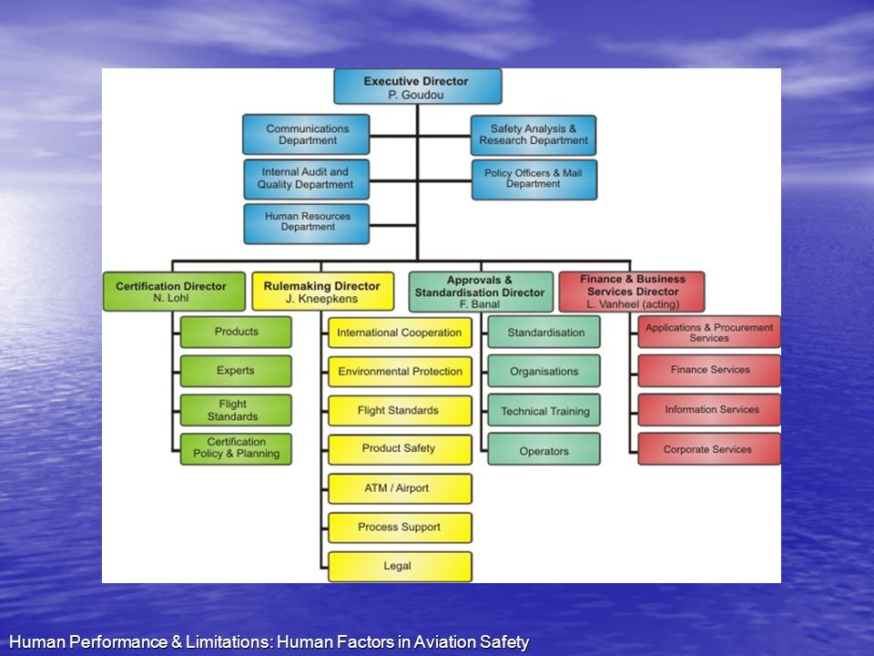 Human Performance & Limitations: Human Factors in Aviation Safety
