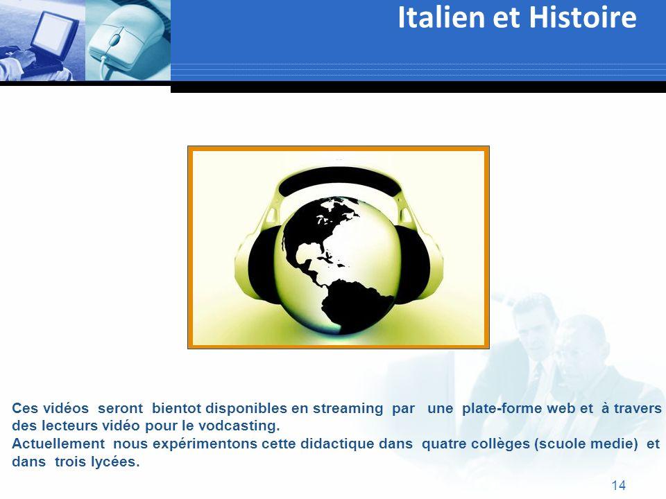 Italien et Histoire Text
