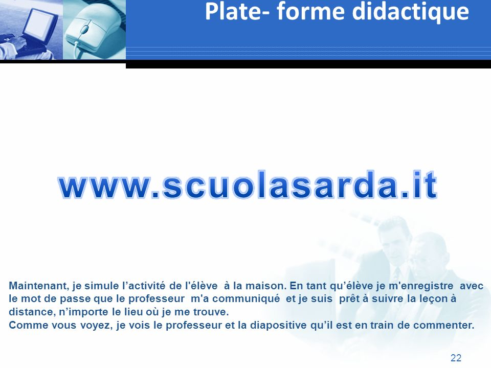 Plate- forme didactique