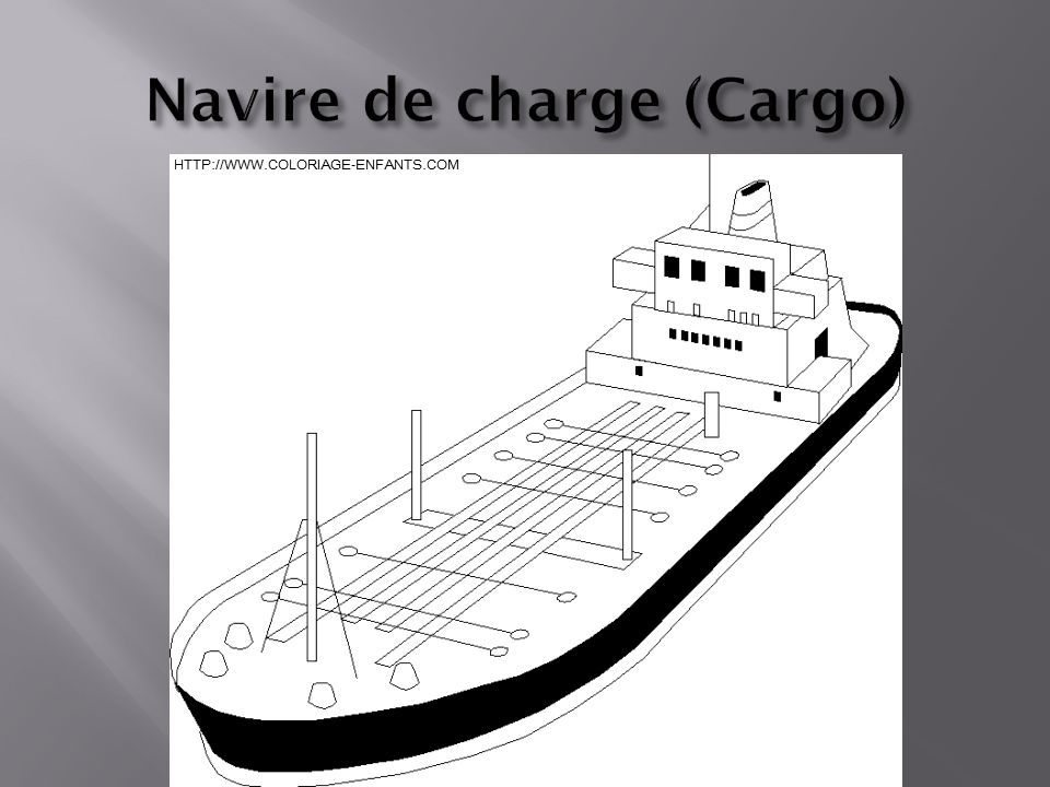 Navire de charge (Cargo)