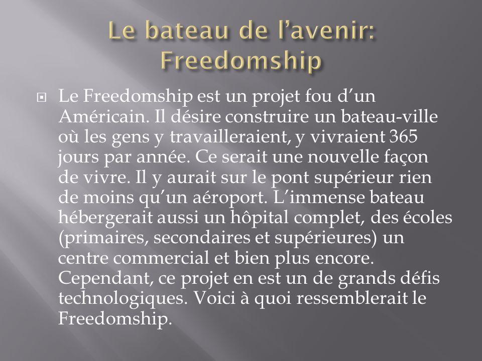 Le bateau de l'avenir: Freedomship