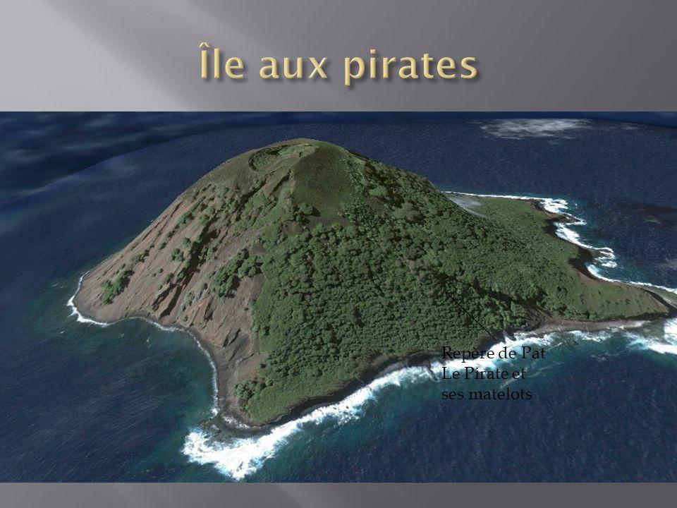 Île aux pirates Repère de Pat Le Pirate et ses matelots