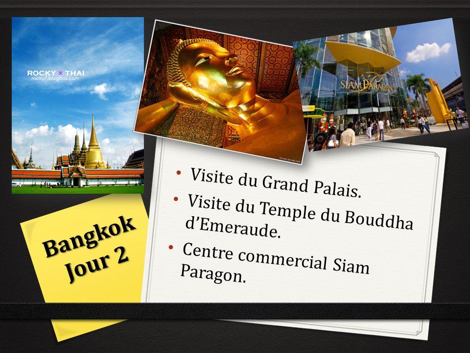 Bangkok Jour 2 Visite du Grand Palais.