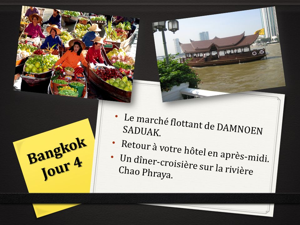 Bangkok Jour 4 Le marché flottant de DAMNOEN SADUAK.