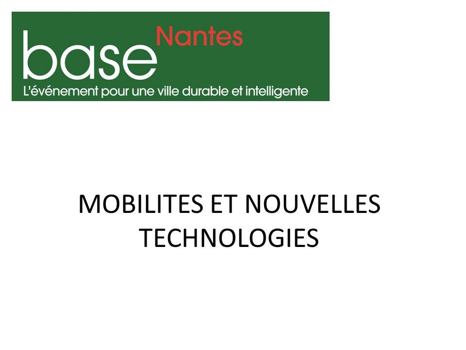 MOBILITES ET NOUVELLES TECHNOLOGIES