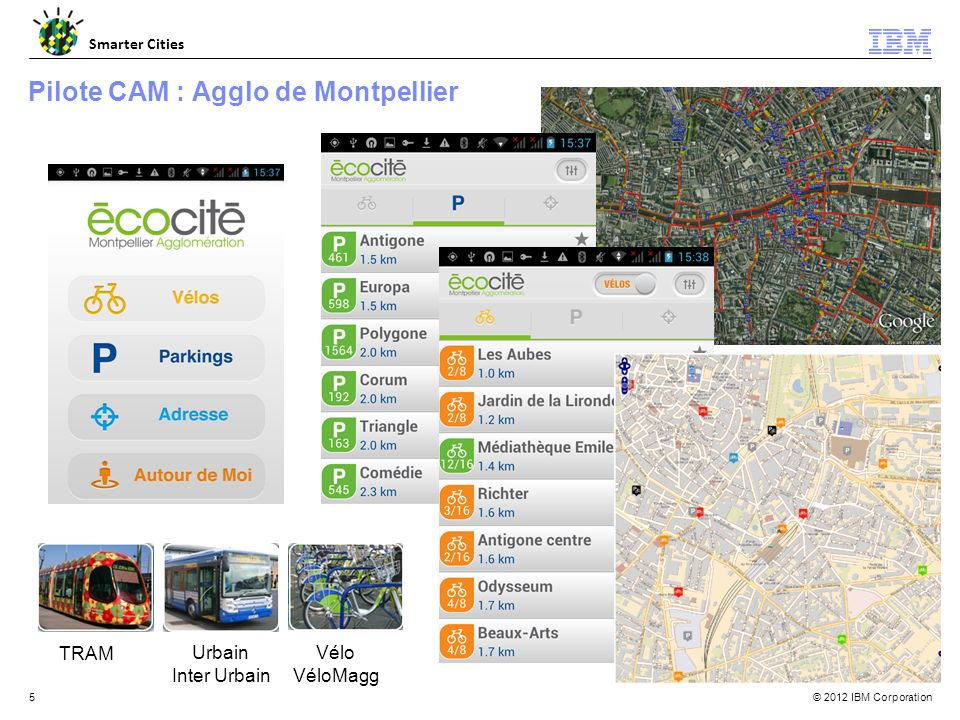 Pilote CAM : Agglo de Montpellier