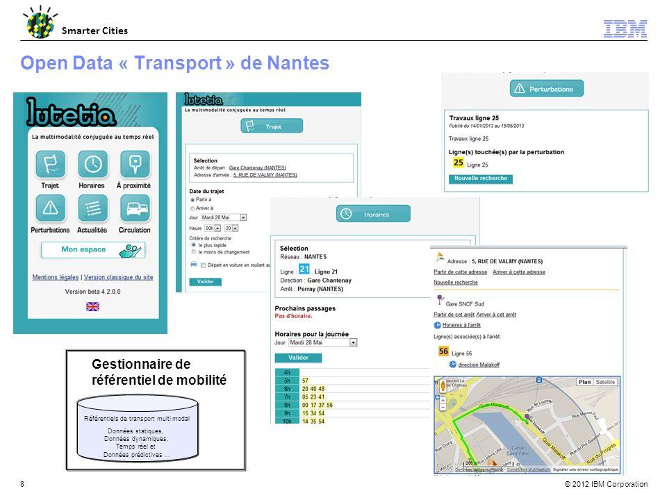 Open Data « Transport » de Nantes