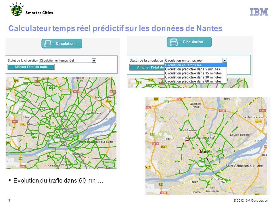 Calculateur temps réel prédictif sur les données de Nantes