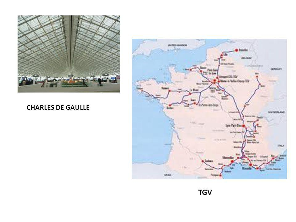 Charles De Gaulle CHARLES DE GAULLE TGV